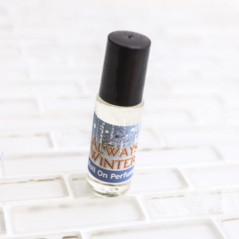 ALWAYS WINTER Roll On Perfume Oil - Fortune Cookie Soap - 1
