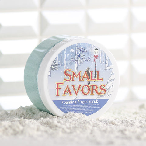 SMALL FAVORS Foaming Sugar Scrub - Fortune Cookie Soap - 1