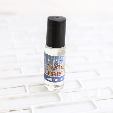 FATHER CHRISTMAS Roll On Perfume Oil - Fortune Cookie Soap - 1