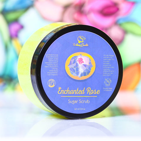 ENCHANTED ROSE Sugar Scrub