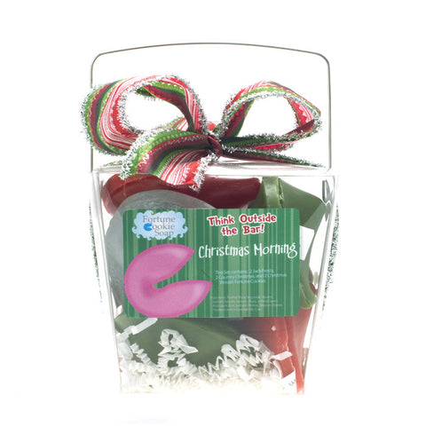 Christmas Morning Bath Gift Set - Fortune Cookie Soap - 1