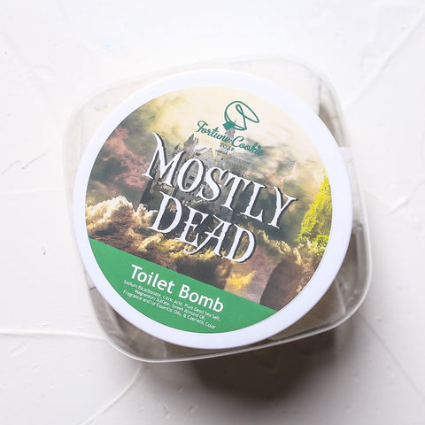 MOSTLY DEAD Toilet Bomb - Fortune Cookie Soap - 1
