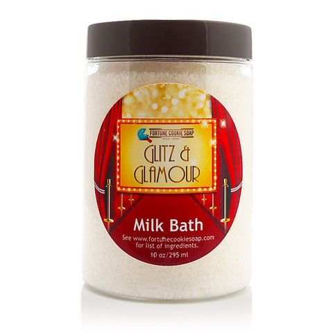 GLITZ & GLAMOUR Milk Bath - Fortune Cookie Soap
