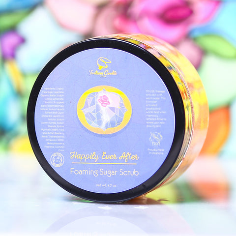 HAPPILY EVER AFTER Foaming Sugar Scrub