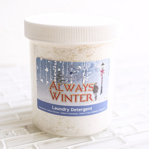 ALWAYS WINTER Laundry Detergent - Fortune Cookie Soap - 1