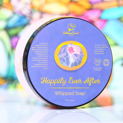 HAPPILY EVER AFTER Whipped Soap