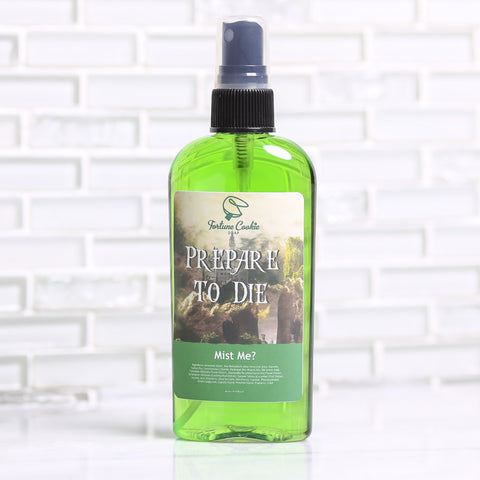 PREPARE TO DIE Mist Me? Body Spray - Fortune Cookie Soap