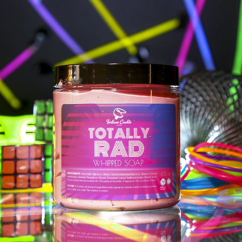 TOTALLY RAD Whipped Soap