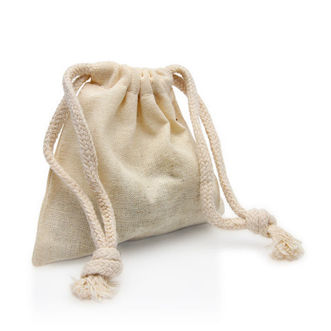 REUSABLE MUSLIN BAG - Fortune Cookie Soap