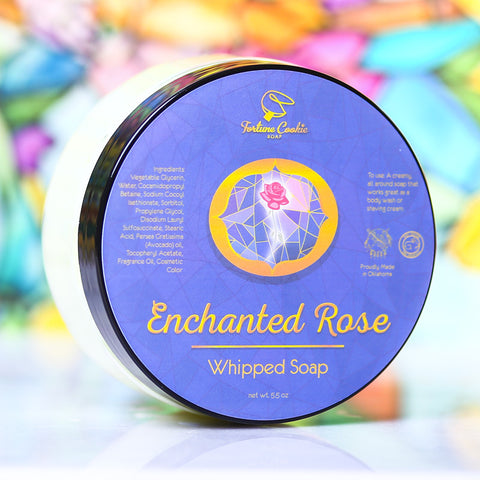 ENCHANTED ROSE Whipped Soap