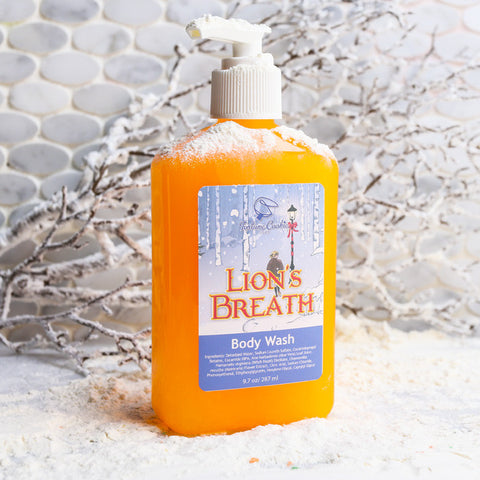 LION'S BREATH Body Wash - Fortune Cookie Soap - 1
