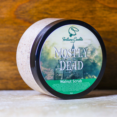 MOSTLY DEAD Walnut Scrub - Fortune Cookie Soap - 1
