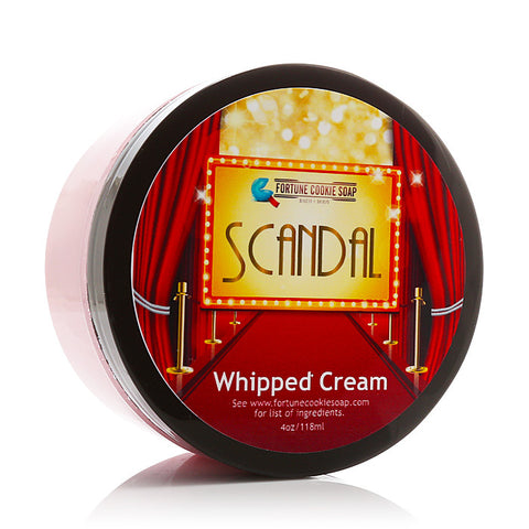 SCANDAL Body Butter - Fortune Cookie Soap