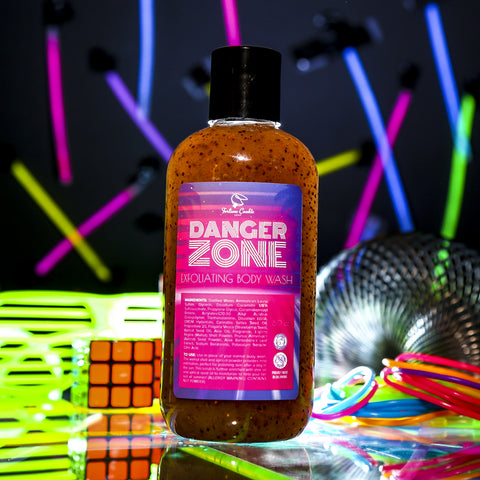 DANGER ZONE Exfoliating Body Wash