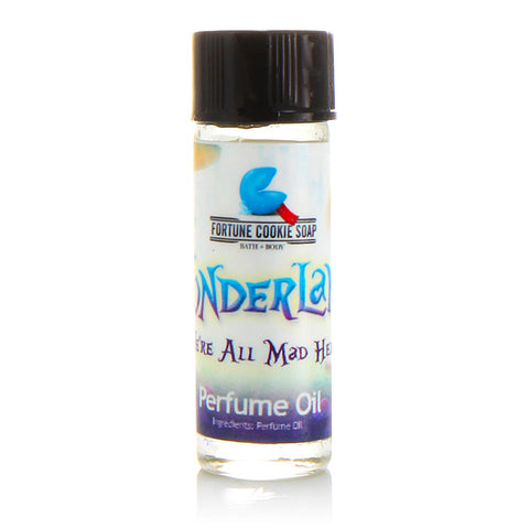 We're All Mad Here Perfume Oil - Fortune Cookie Soap