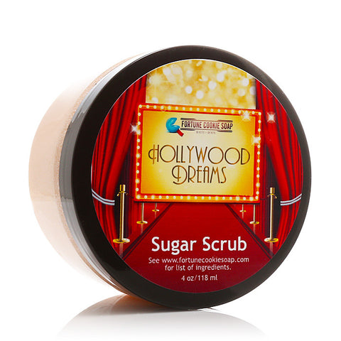 HOLLYWOOD DREAMS Sugar Scrub - Fortune Cookie Soap