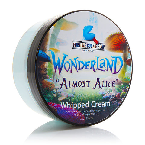 Almost Alice Whipped Cream - Fortune Cookie Soap