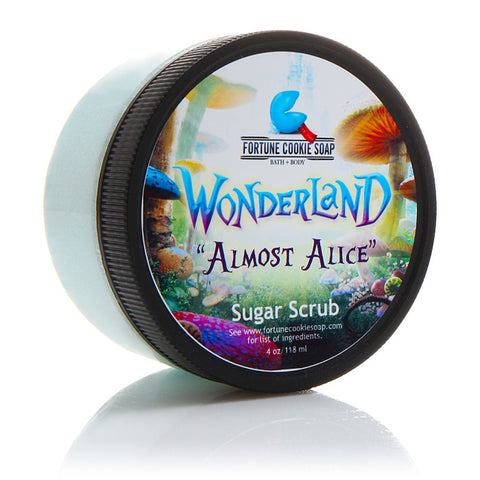 Almost Alice Sugar Scrub - Fortune Cookie Soap