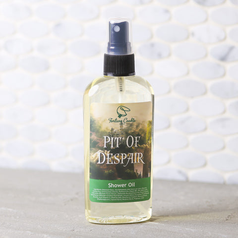 PIT OF DESPAIR Shower Oil - Fortune Cookie Soap