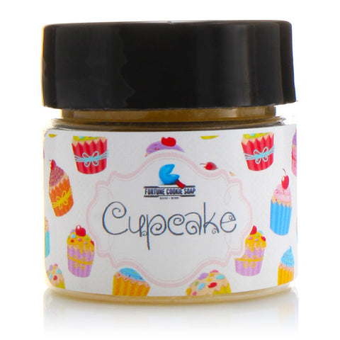 CUPCAKE Talkin' Smack Lip Scrub - Fortune Cookie Soap - 2