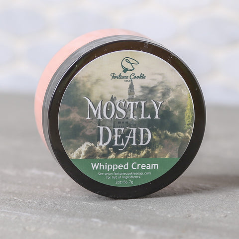 MOSTLY DEAD Whipped Cream - Fortune Cookie Soap - 1