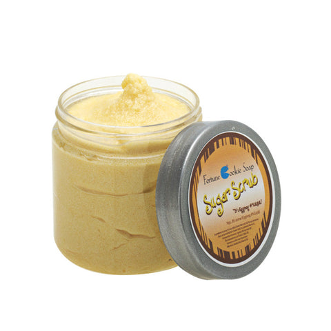 It's Eggnog %$#^&@ Sugar Scrub - Fortune Cookie Soap