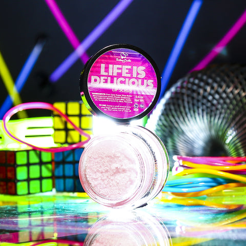LIFE IS DELICIOUS Lip Scrub