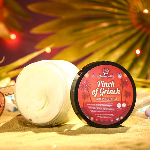 PINCH OF GRINCH Whipped Cream