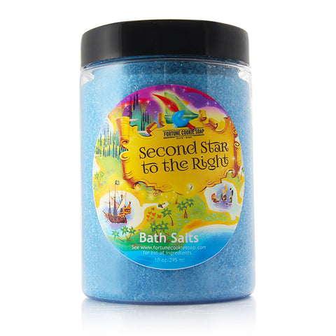 SECOND STAR TO THE RIGHT Bath Salts - Fortune Cookie Soap