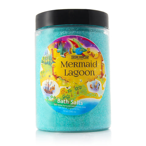 MERMAID LAGOON Bath Salts - Fortune Cookie Soap