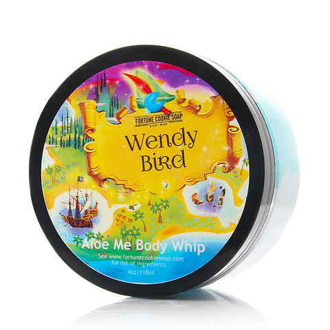 WENDY BIRD Aloe Me Body Whip - Fortune Cookie Soap