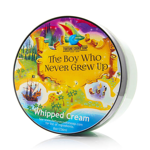 THE BOY WHO NEVER GREW UP Whipped Cream - Fortune Cookie Soap