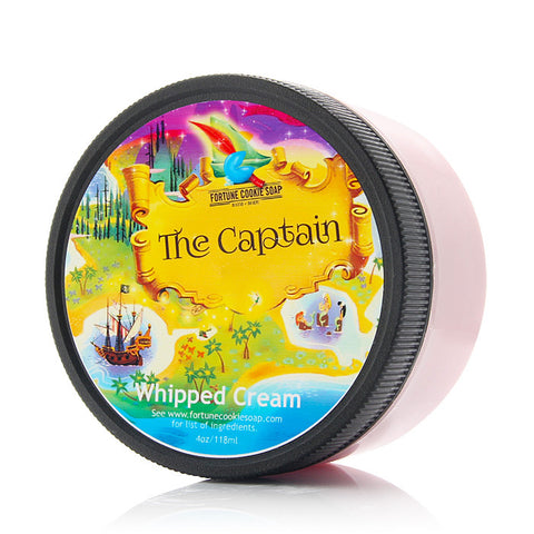 THE CAPTAIN Whipped Cream - Fortune Cookie Soap