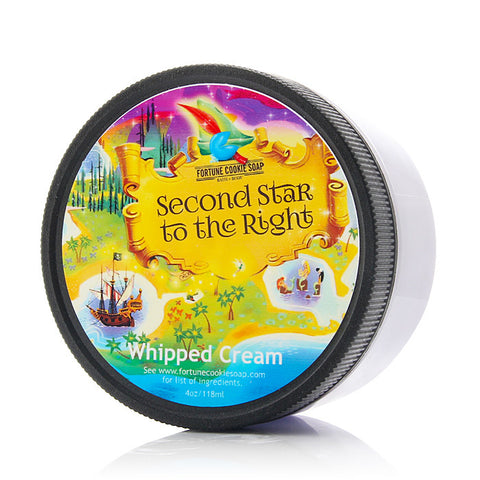 SECOND STAR TO THE RIGHT Whipped Cream - Fortune Cookie Soap