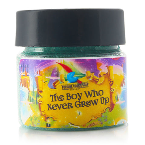 THE BOY WHO NEVER GREW UP Talkin' Smack Lip Scrub - Fortune Cookie Soap