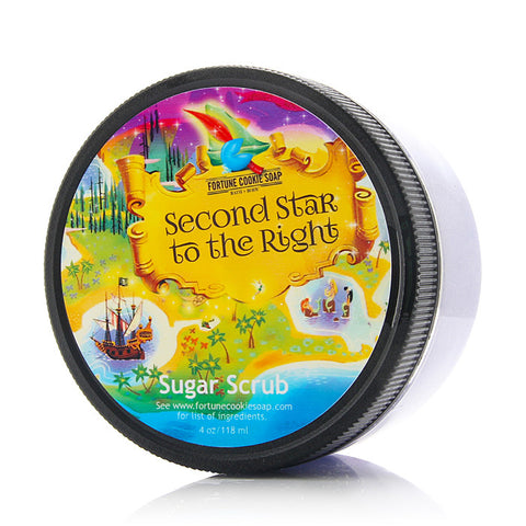 SECOND STAR TO THE RIGHT Sugar Scrub - Fortune Cookie Soap