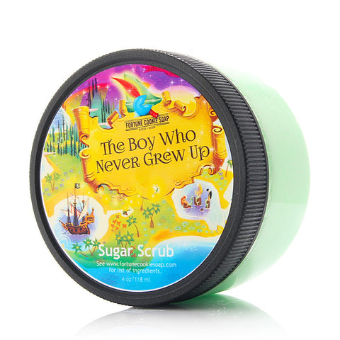 THE BOY WHO NEVER GREW UP Sugar Scrub - Fortune Cookie Soap