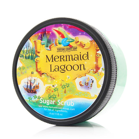 MERMAID LAGOON Sugar Scrub - Fortune Cookie Soap