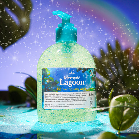 MERMAID LAGOON Exfoliating Body Wash