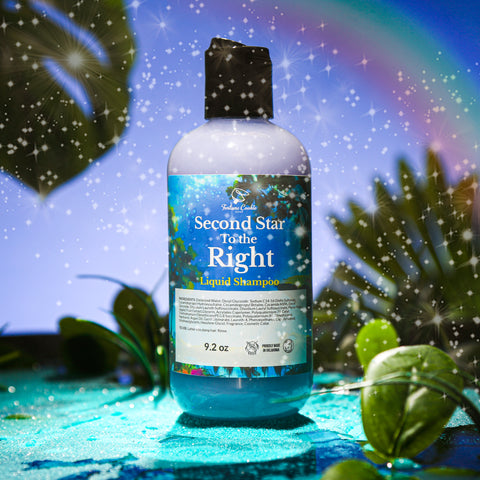 SECOND STAR TO THE RIGHT Liquid Shampoo SULFATE FREE