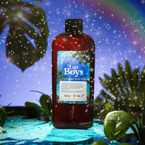 LOST BOYS Aloe Infused Body Milk