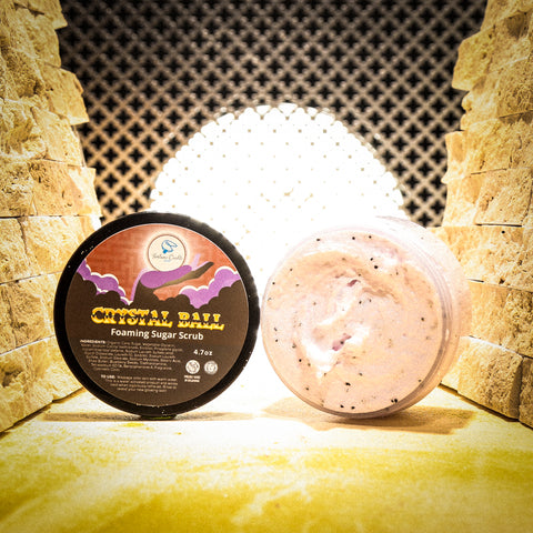 CRYSTAL BALL Foaming Sugar Scrub