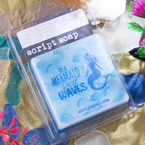 BE A MERMAID & MAKE WAVES Script Soap