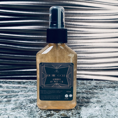 LIQUID GOLD Shimmer Shower Oil