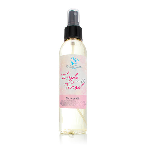 TANGLE IN THE TINSEL Shower Oil - Fortune Cookie Soap