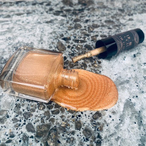LIQUID GOLD Nail Polish SCENTED