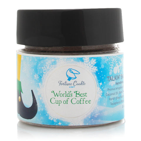 WORLD's BEST CUP OF COFFEE Talkin' Smack Lip Scrub - Fortune Cookie Soap
