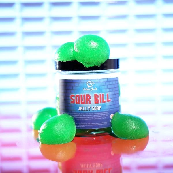 Sour Bill Shower Jelly Fortune Cookie Soap