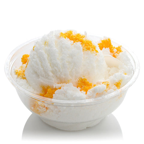 YELLOW SNOW Gelato Bath Bomb - Fortune Cookie Soap