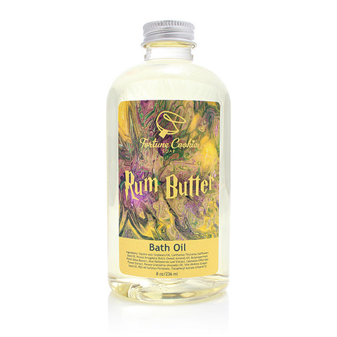 RUM BUTTER Bath Oil - Fortune Cookie Soap